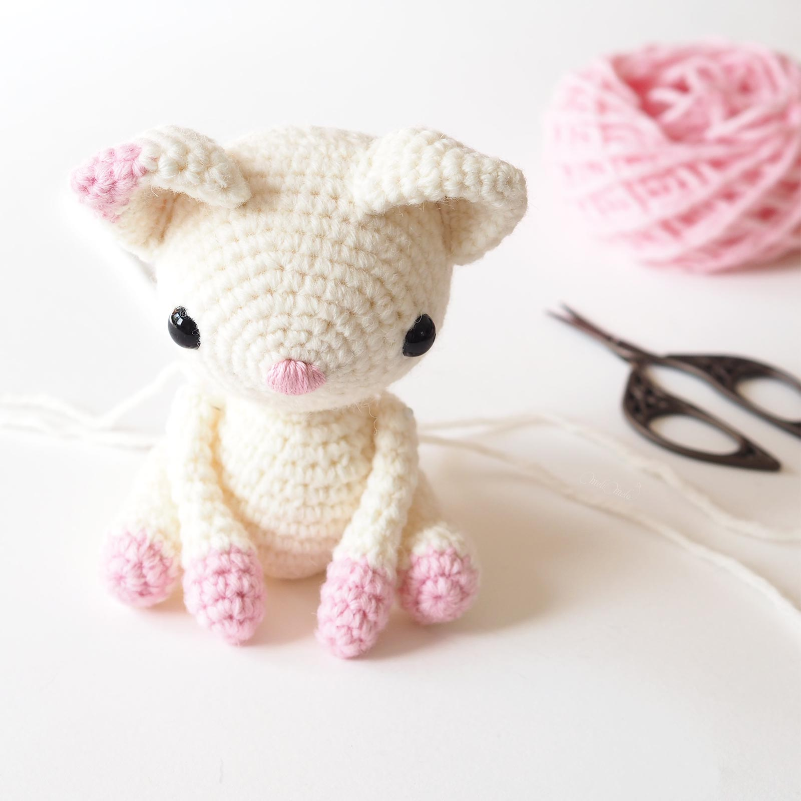 diy crochet chat couture pattes diymelimelo laboutiquedemelimelo