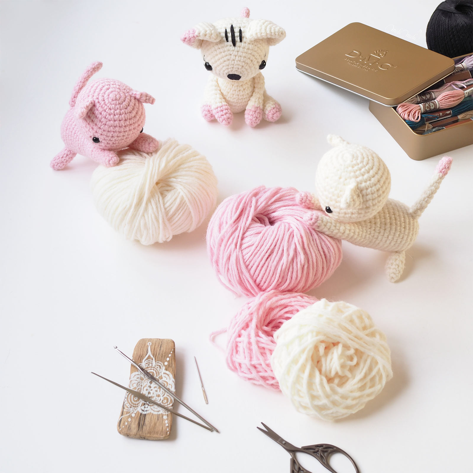 famille chachat crochet créations encours laboutiquedemelimelo