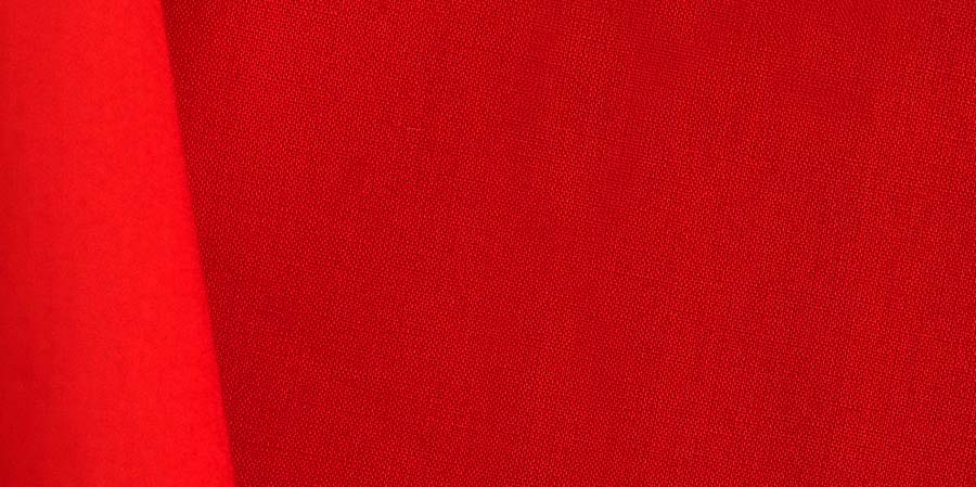 tissu japonais uni Akaaka red coquelicots laboutiquedemelimelo