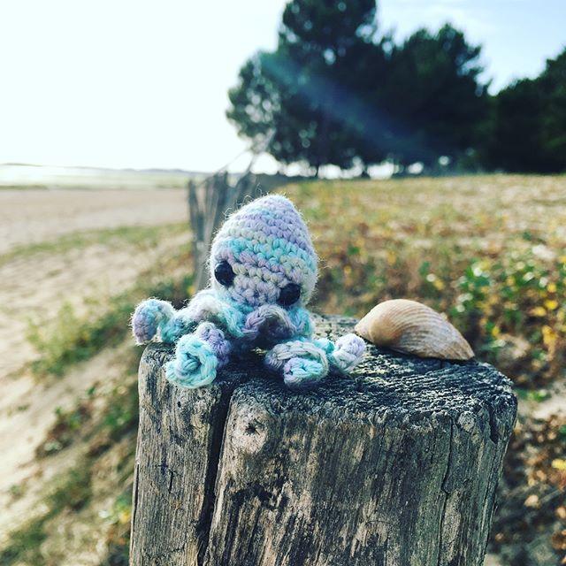 DIY mini-poulpe crochet teaforyoubijoux #diymelimelo