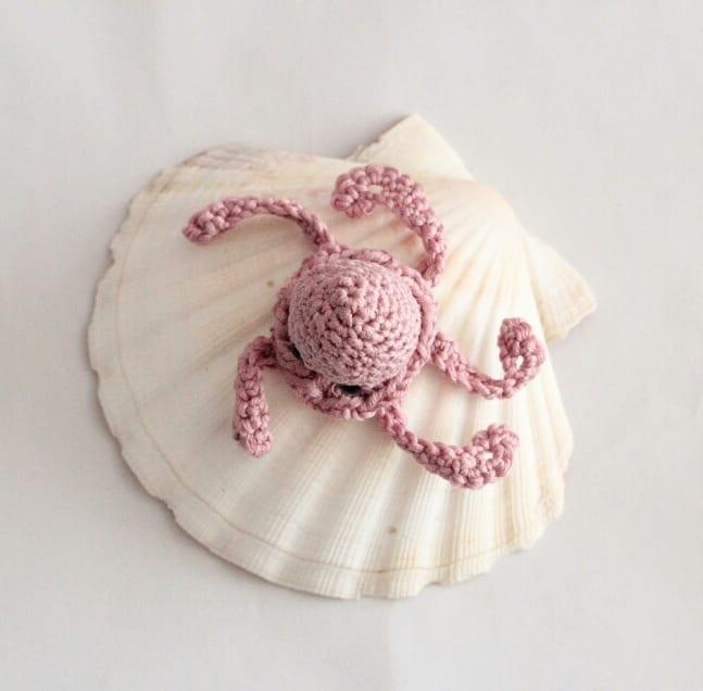 diy crochet mini poulpe tutoriel DIY #diymelimelo