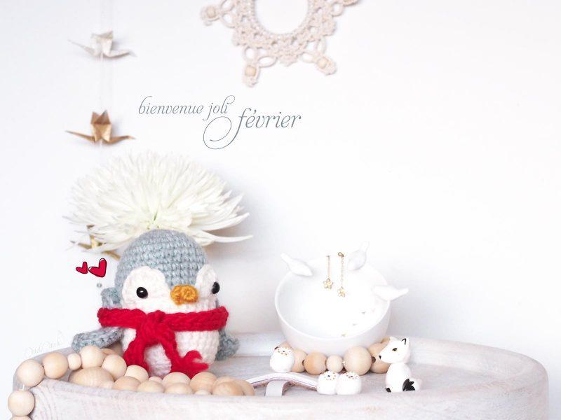 bienvenue joli mois créations mignonneries crochet pingouin laboutiquedemelimelo