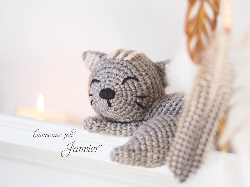 bienvenue joli mois créations mignonneries crochet chat persan endormi laboutiquedemelimelo