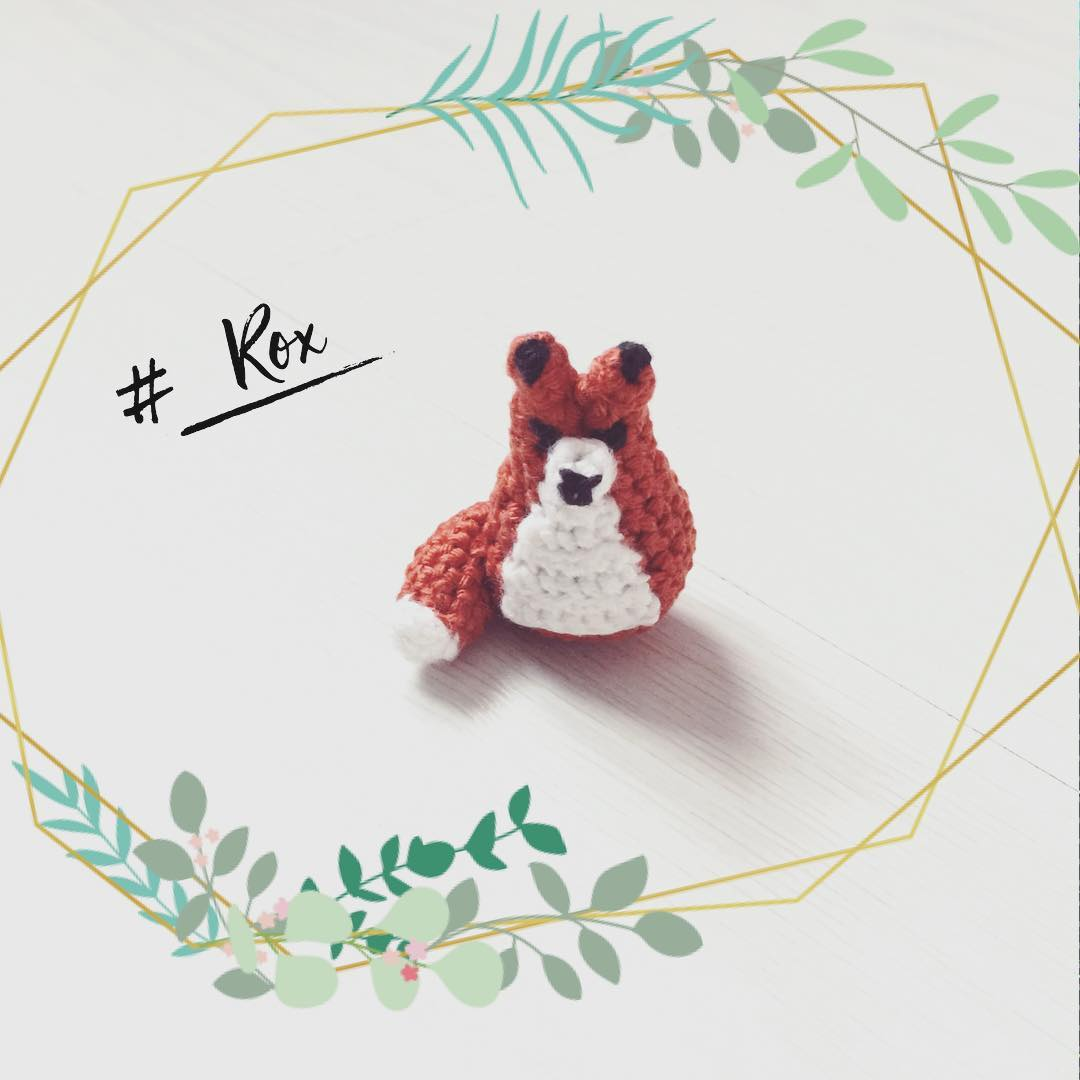 tiny renard DIY crochet