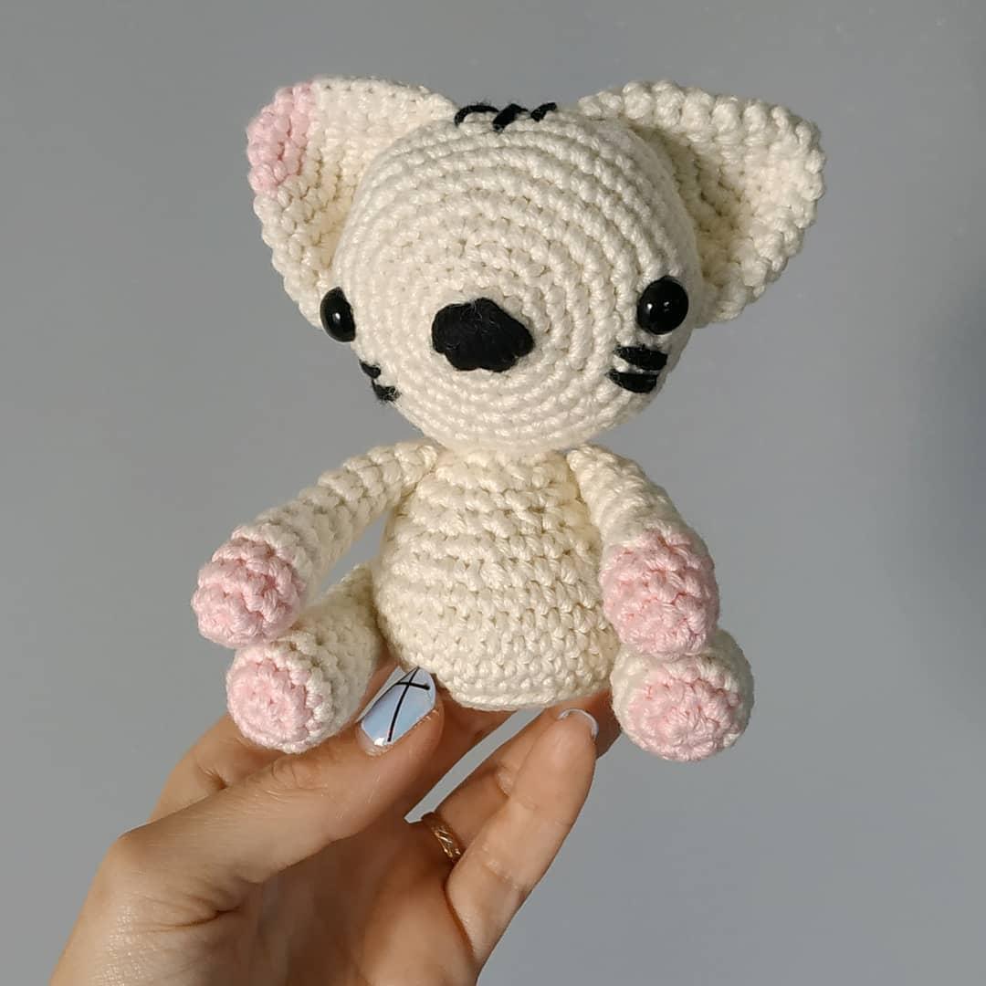 maman chat crochet DIY #diymelimelo