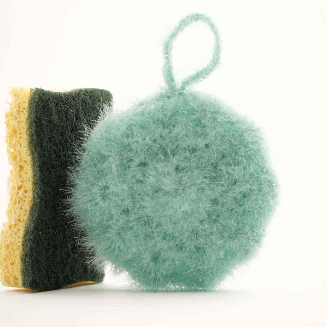 éponge tawashi mint ricodesign creative bubble DIY #diymelimelo