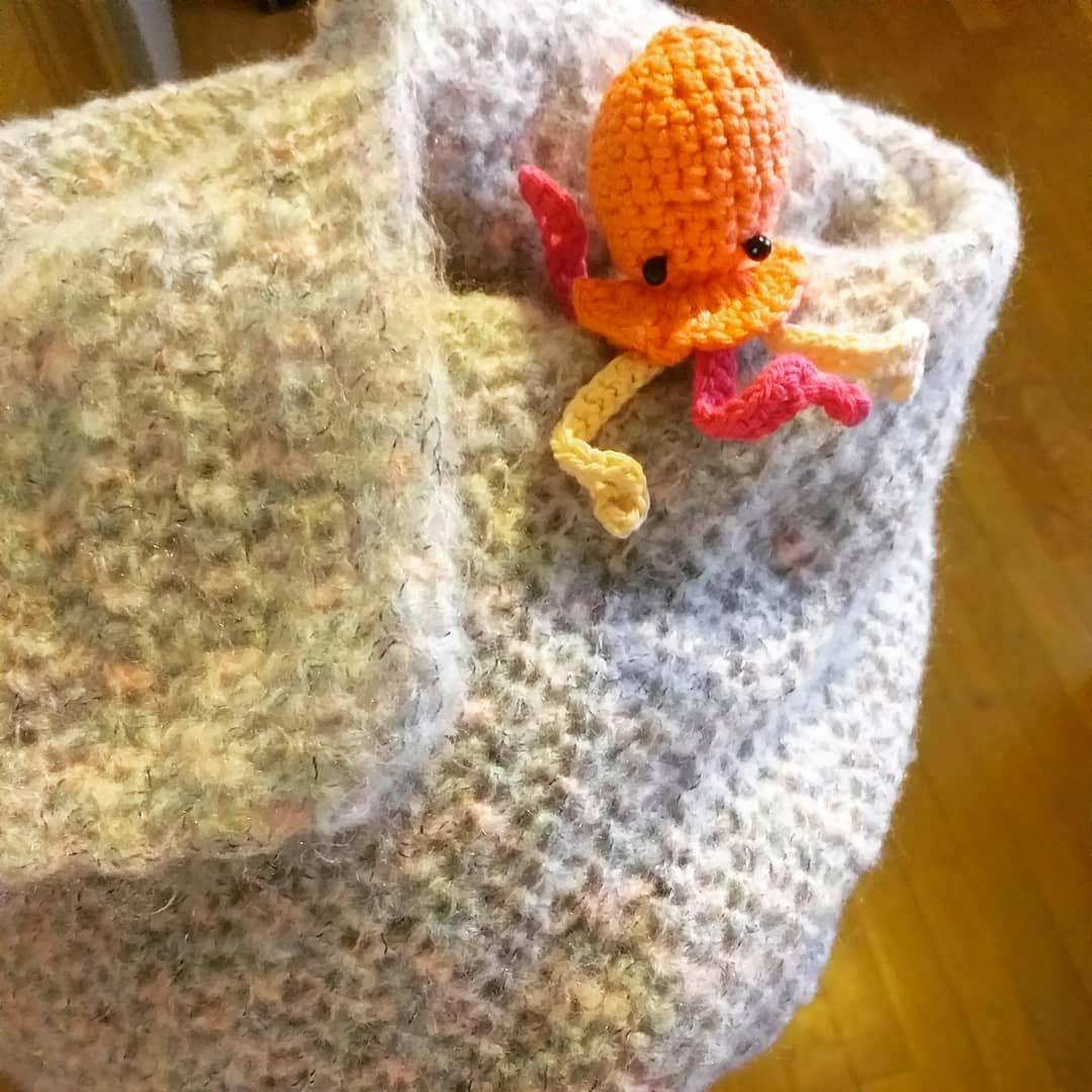 crochet mini poulpe pieuvre orange #diymelimelo