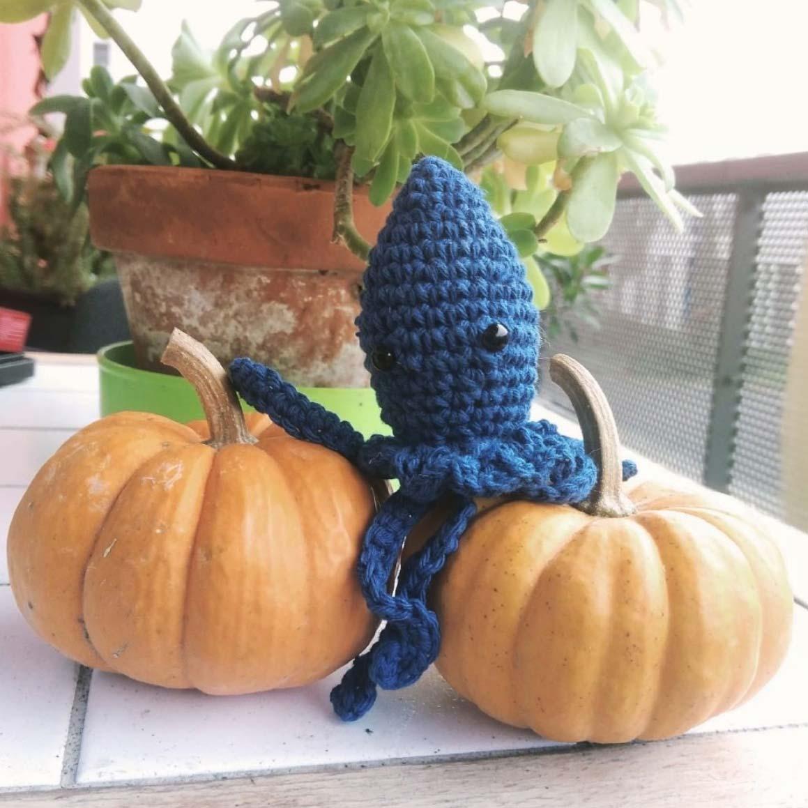diy crochet mini poulpe pieuvre DIY #diymelimelo