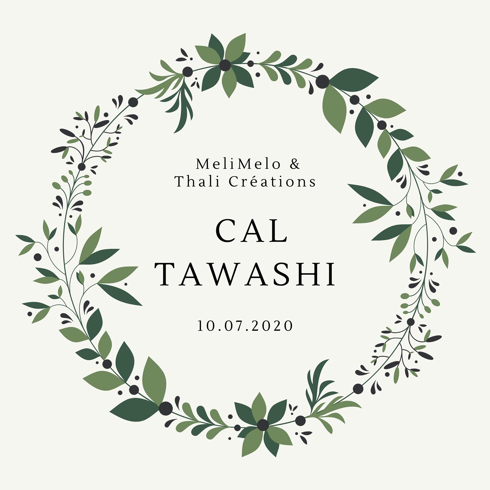 CAL crochet tawashi thalicréations laboutiquedemelimelo
