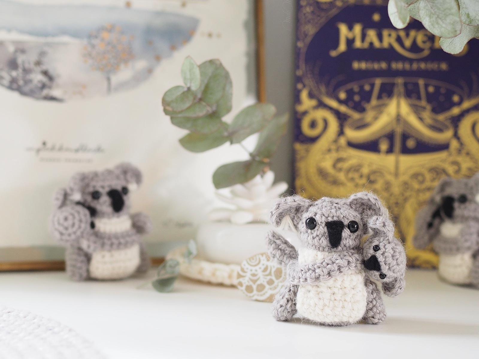 aide dons Australie crochet koala mini Boutique MeliMelo