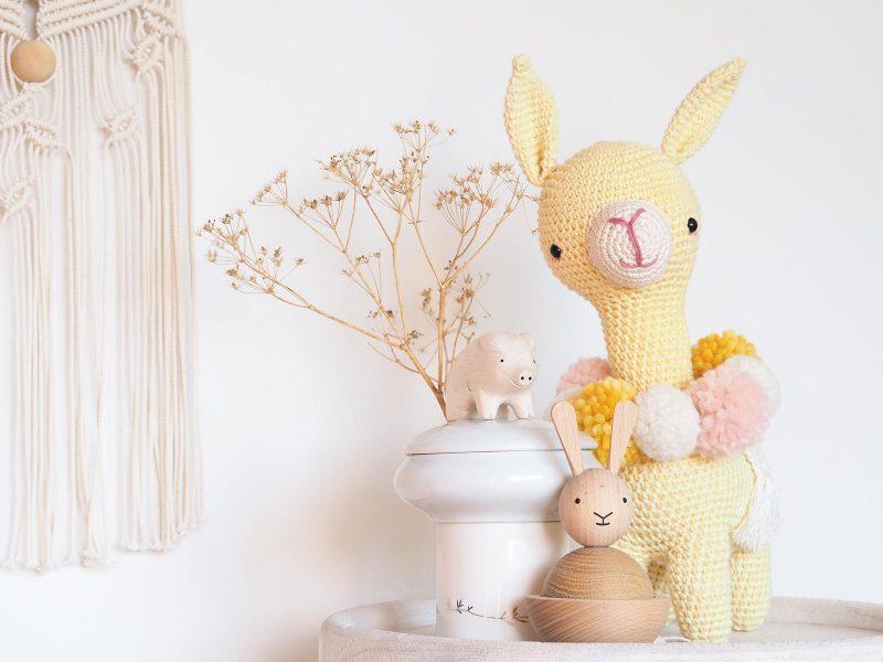 amigurumi doudou Marcia alpaca picapau crochet lama alpaga laboutiquedemelimelo