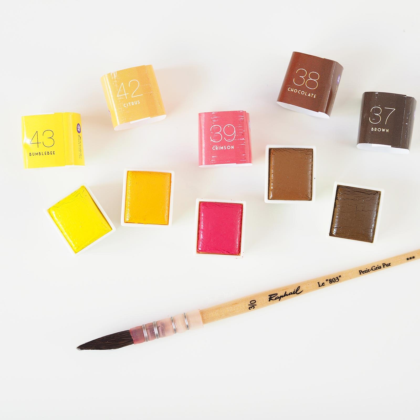 aquarelle watercolor pastel dreams 37-38-39-42-43 Prima Boutique MeliMelo