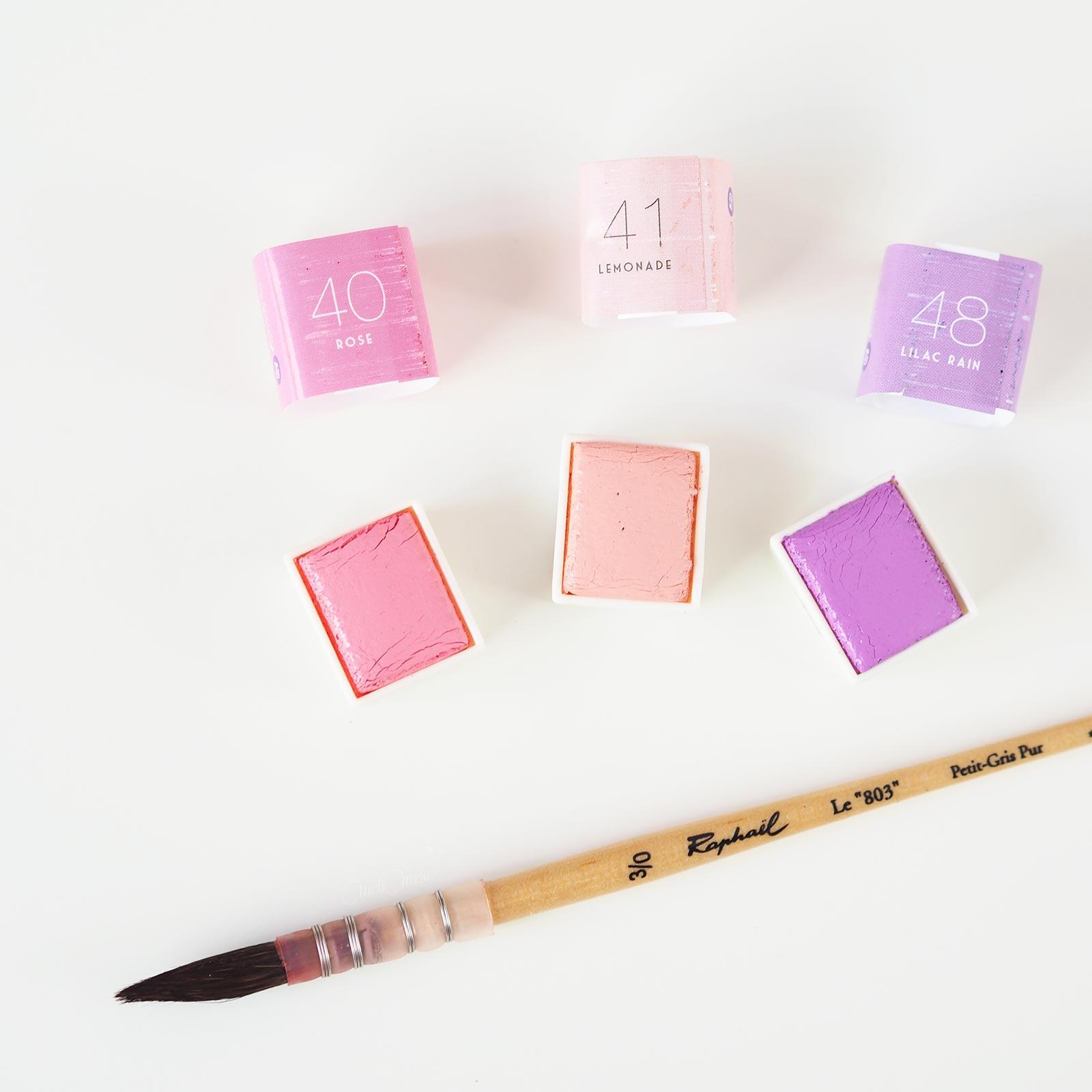 aquarelle watercolor pastel dreams 40-41-48 confections prima Boutique MeliMelo