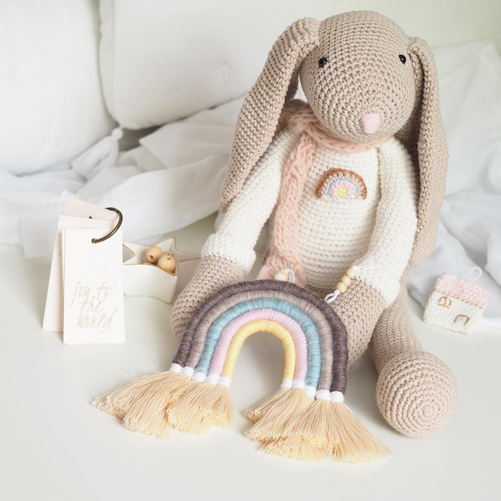 arc-en-ciel-laine-doudou-lapin-crochet-kit-DIY-laboutiquedemelimelo