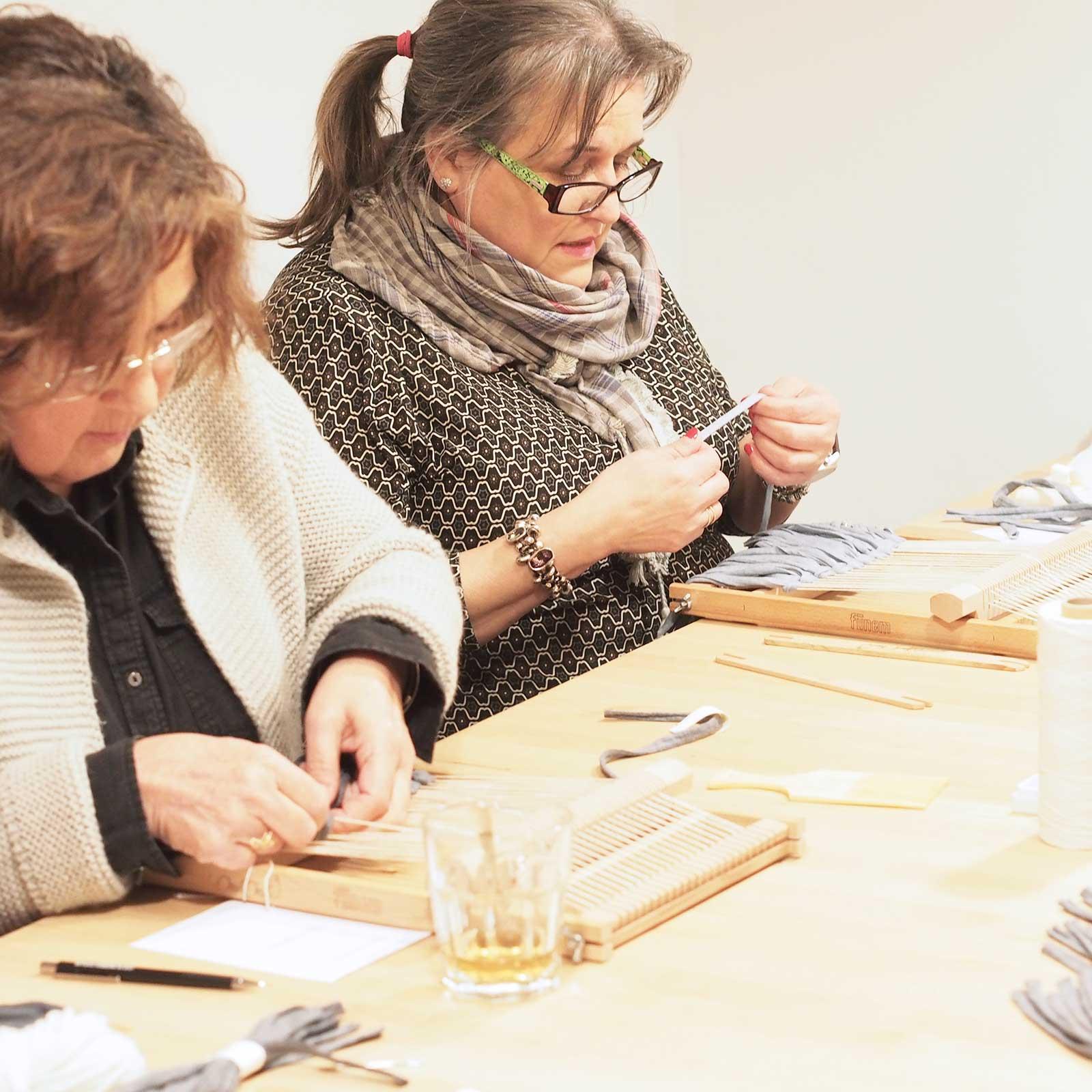 workshop atelier créatif tissage iii janvier Valladolid Mimarinita laboutiquedemelimelo
