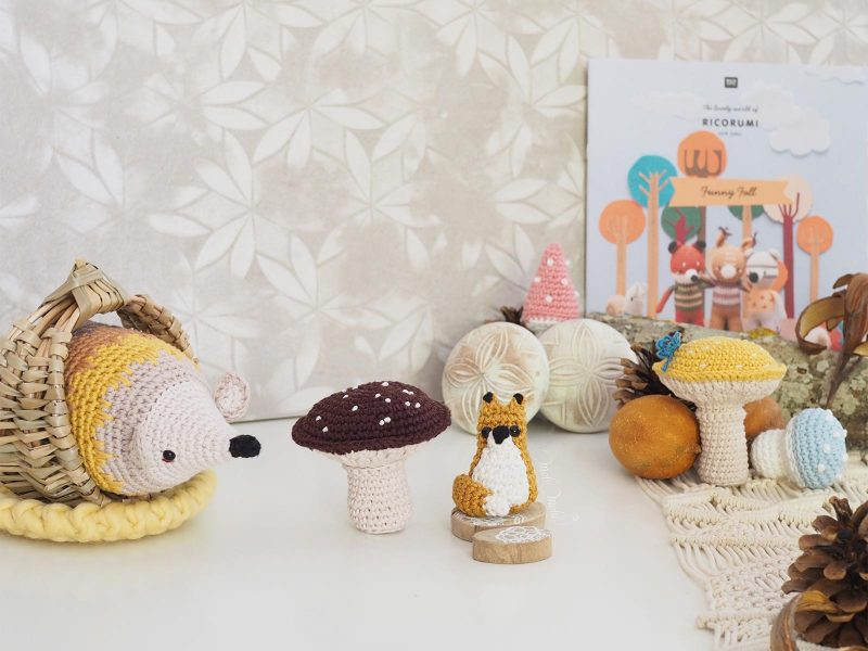 automne-herisson-renard-hedgehog-fox-ricorumi-fall-love-crochet-laboutiquedemelimelo