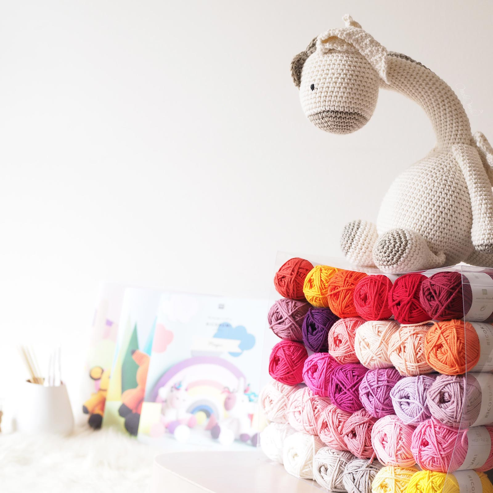 bébé dragon crochet laboutiquedemelimelo accueil fil patrons set box Ricorumi