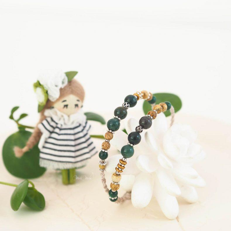 bijou-artisanat-bracelet-macrame-mookaite-jaspe-pierres-fines-laboutiquedemelimelo