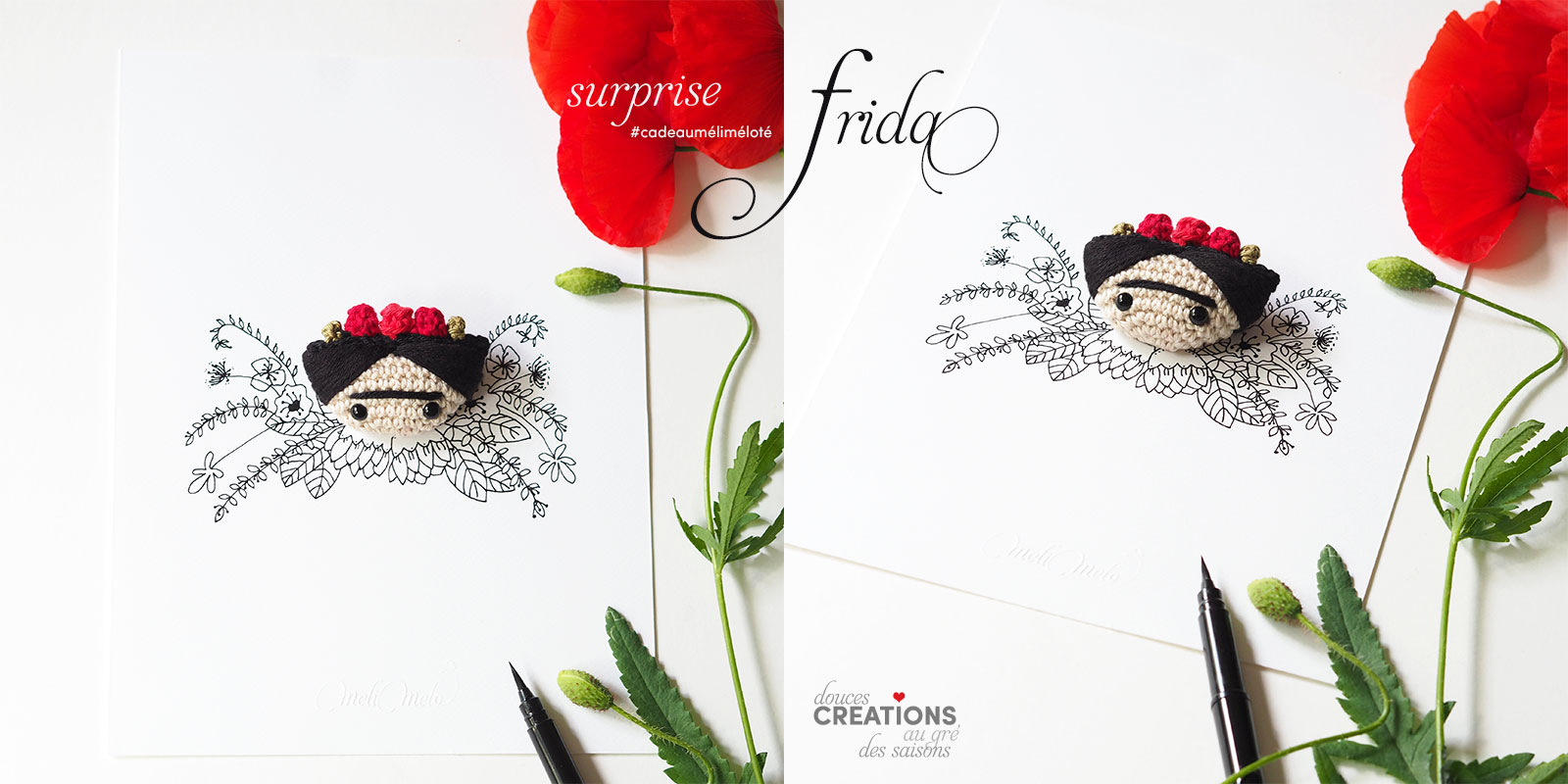 cadeau concours illustration crochet Frida blog instagram laboutiquedemelimelo
