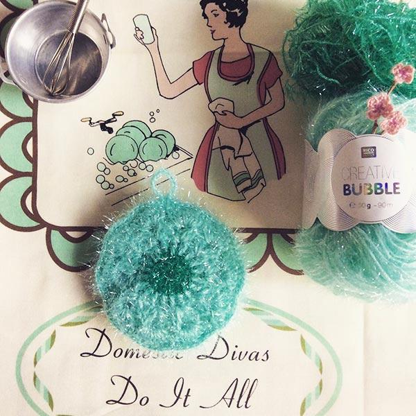 DIY crochet CAL tawashi fleur coeur laboutiquedemelimelo