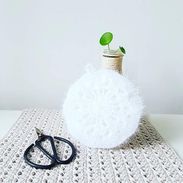 DIY crochet CAL tawashi fleur laboutiquedemelimelo