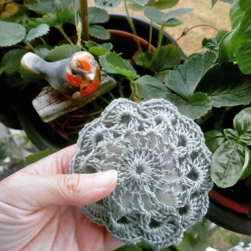 tawashi fleur savonnette DIY pasapasdechat