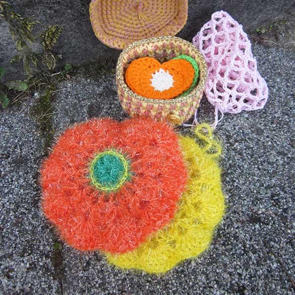 DIY crochet tawashis eponge laboutiquedemelimelo