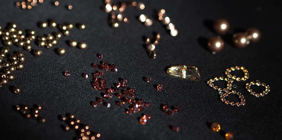 cristal éclats de bronze laboutiquedemelimelo