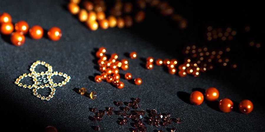 cristal éclats de tangerine laboutiquedemelimelo