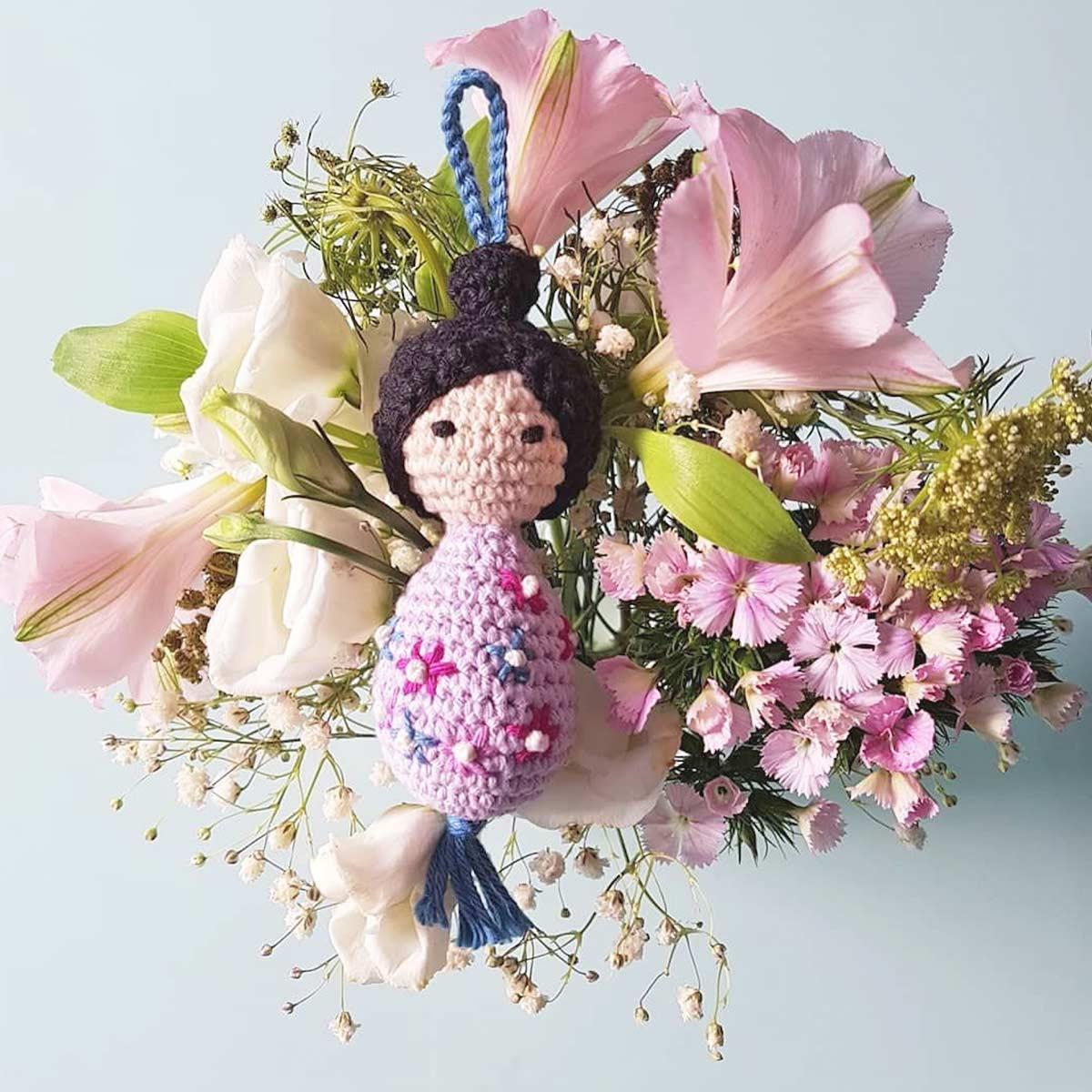 diy crochet poupée PoiS PlumeS tutoriel DIY #diymelimelo