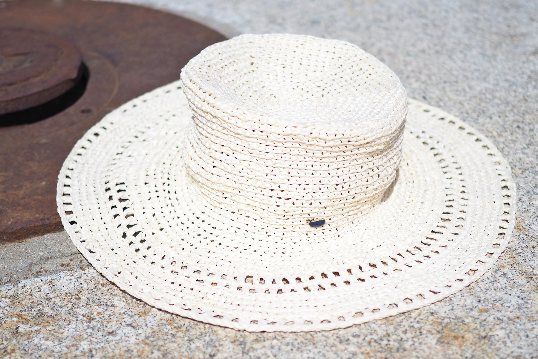 Chapeau Worn This Way Hat fini Ra-Ra Raffia Wool And The Gang La Boutique de MeliMelo