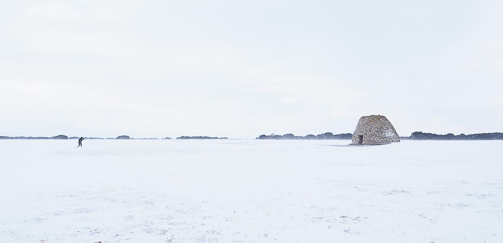 chozo-valdemore-montes-del-cerrato-palencia-invierno-tormenta-filomena