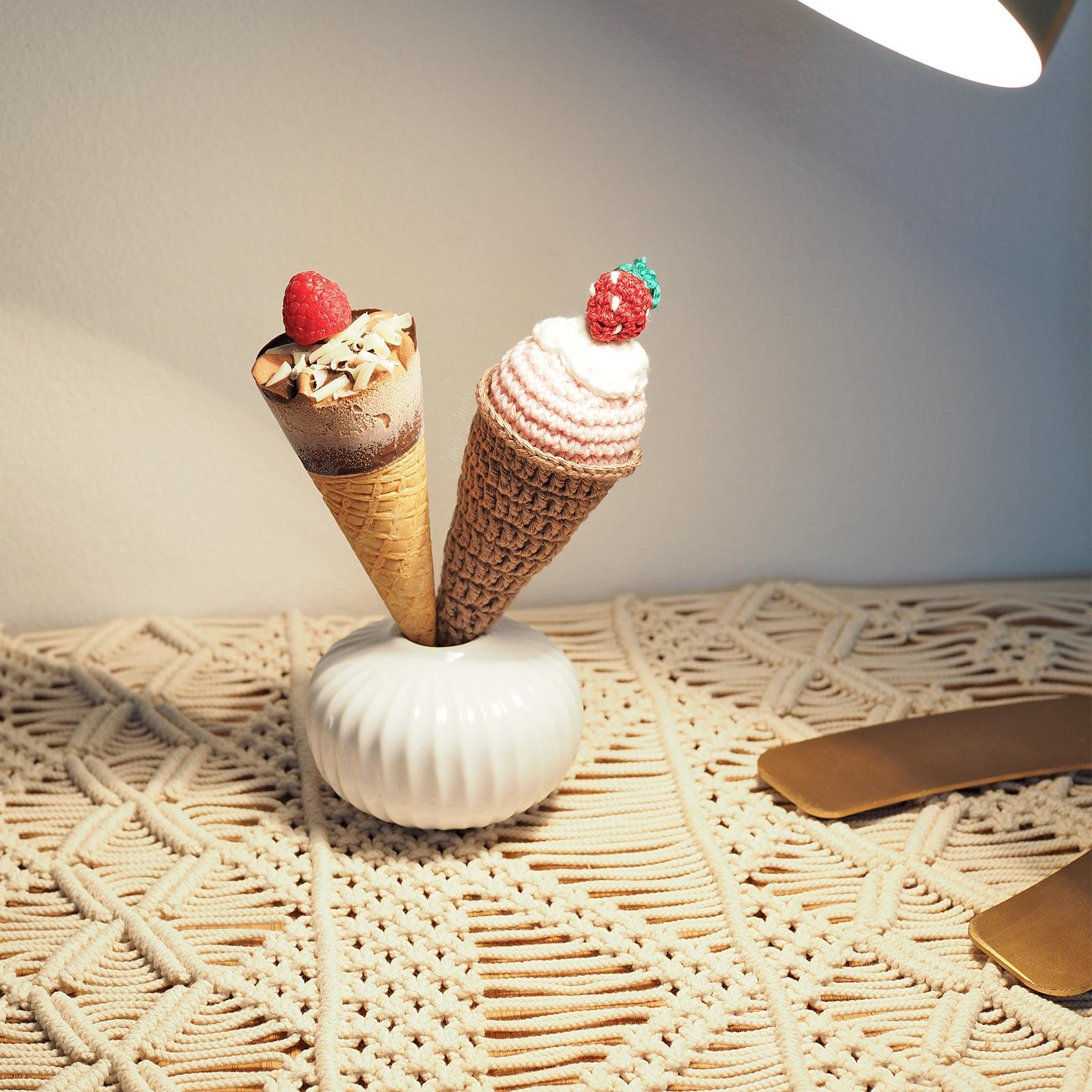 cornet-glace-fraise-chocolat-crochet-coton-ricorumi-laboutiquedemelimelo