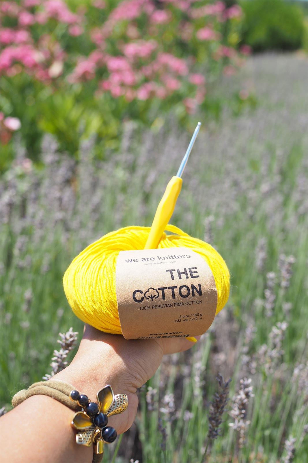 coton-pima-jaune-yellow-the-cotton-wool-weareknitters-summervibs-laboutiquedemelimelo