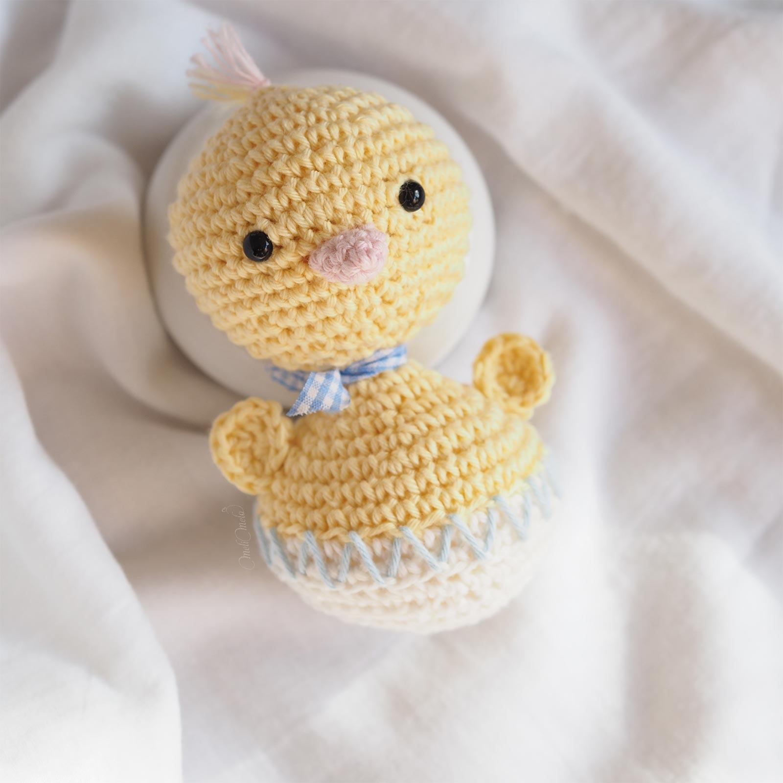 crochet-amigurumi-ricorumi-vichy-poussin-oeuf-coquille-pâques-laboutiquedemelimelo