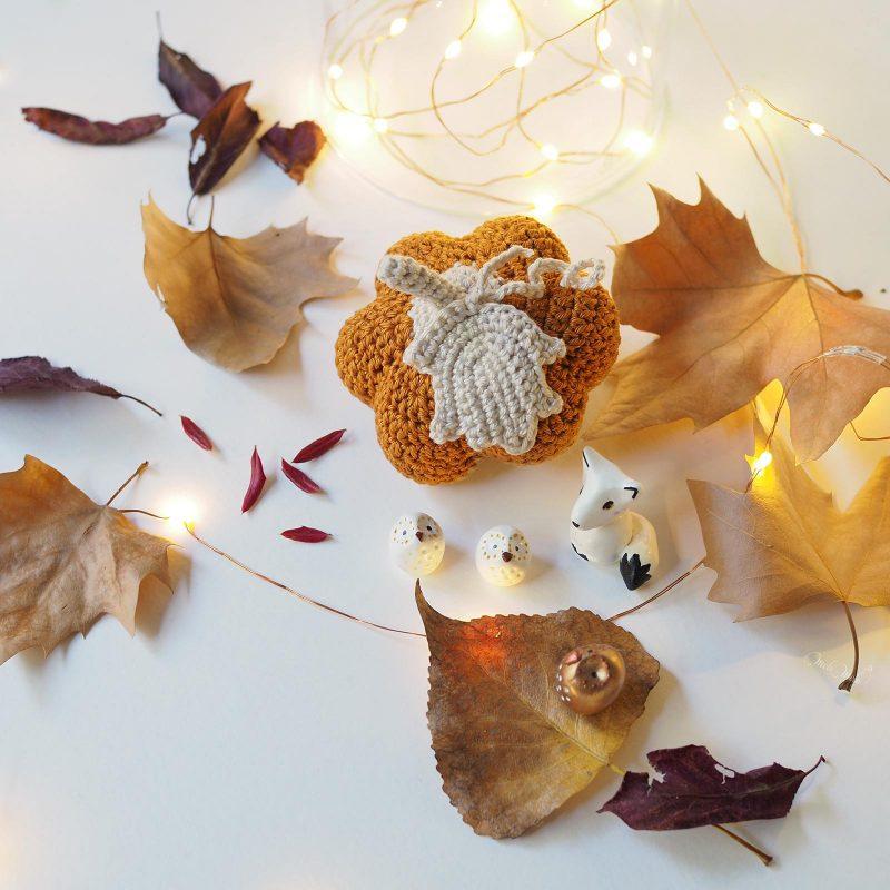 crochet automne féérique Serial Crocheteuses and more 401 citrouille renard chouettes pumpkin laboutiquedemelimelo