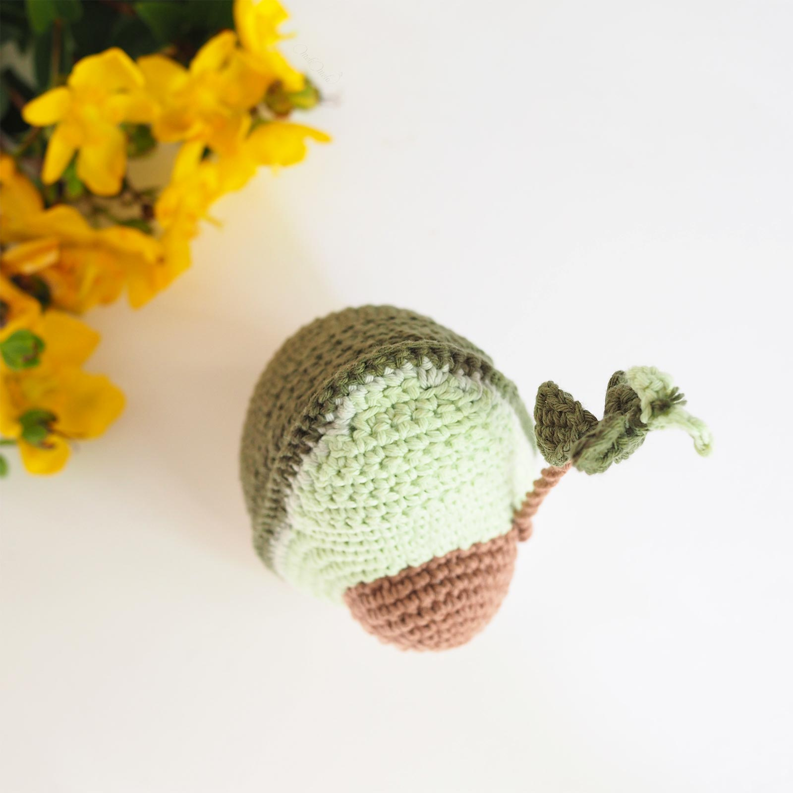 amigurumi crochet avocat avocado coton Ricorumi laboutiquedemelimelo