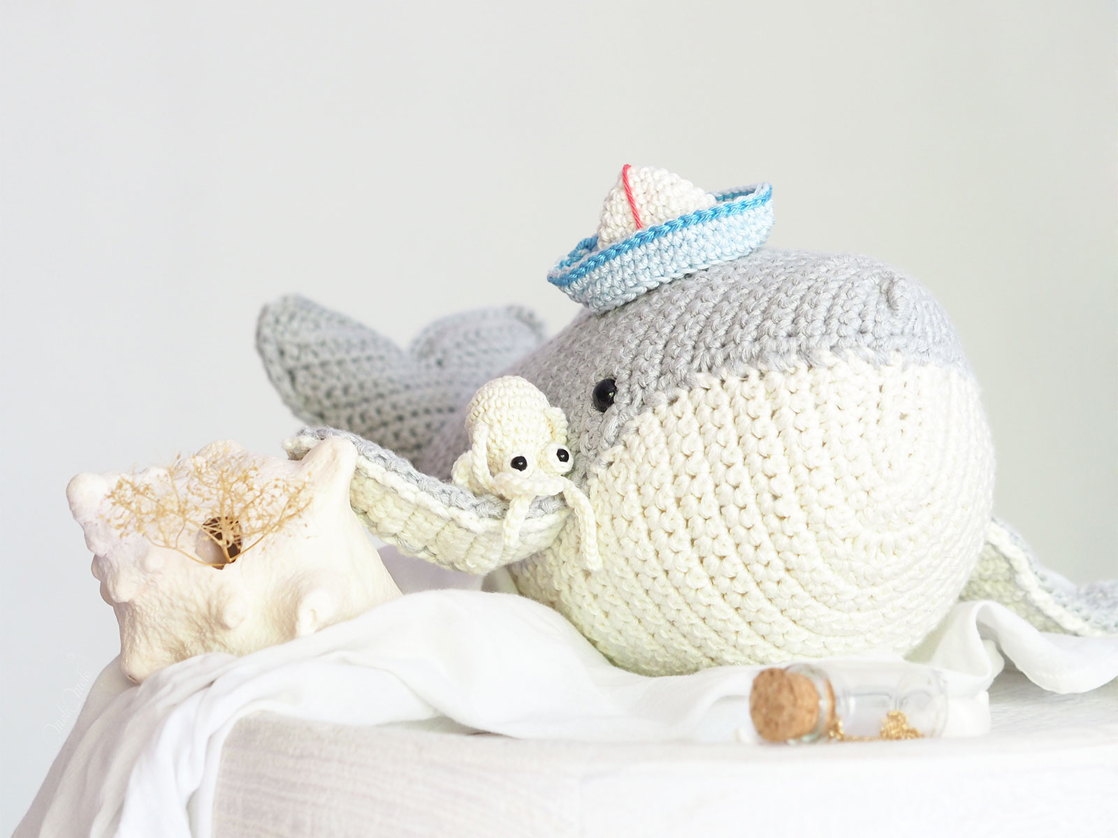 amigurumis crochet baleine poulpe voilier origami Boutique MeliMelo