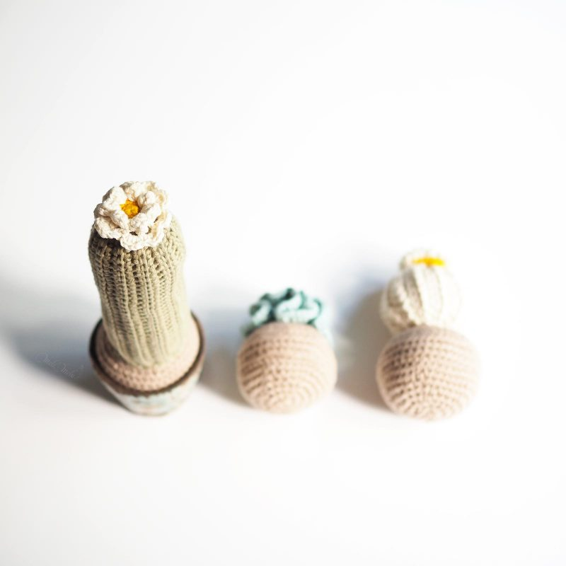 crochet cactus décoration modèle haut The Cotton Wool We are Knitters Classico Modern Living homeware laboutiquedemelimelo
