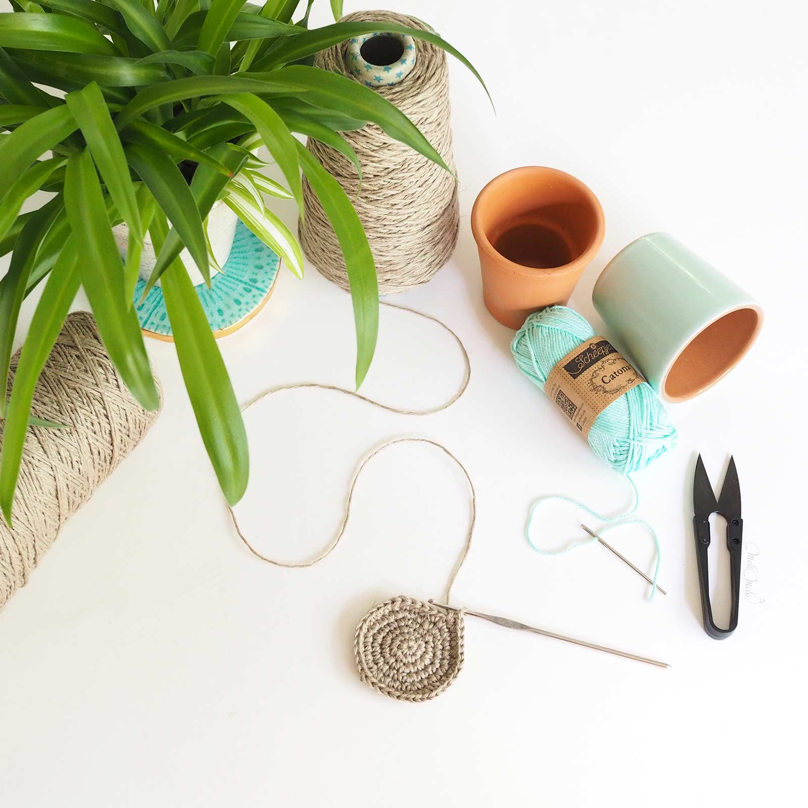 crochet Cotton Catona Scheepjes linen yarn Airedaleyarns laboutiquedemelimelo