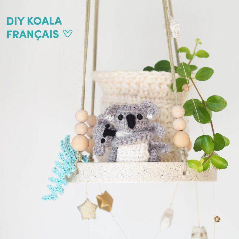 crochet-diy-tutoriel français koala-maman-bebe-amigurumis boutique melimelo