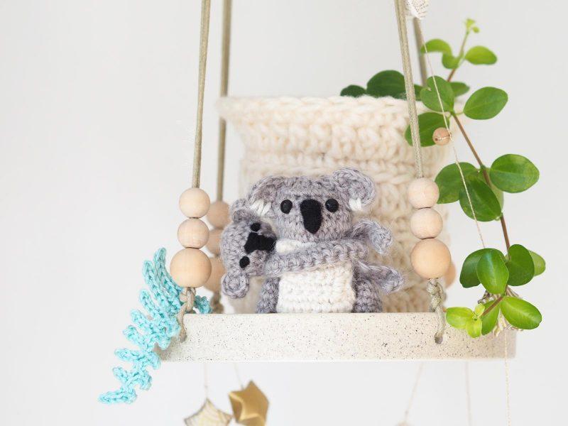 crochet diy tutoriel koala marsupiaux maman bébé Boutique MeliMelo