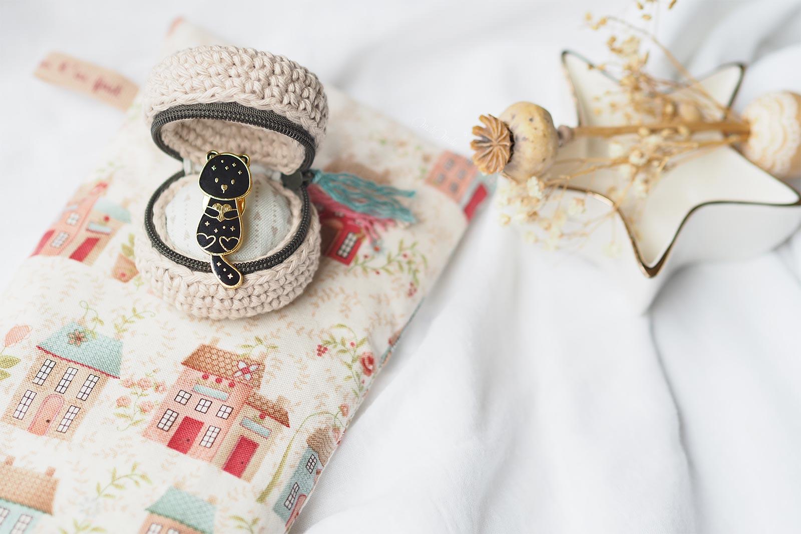 crochet écrin chouettekit loutre Marion Blanc @paulinacholeva Boutique MeliMelo