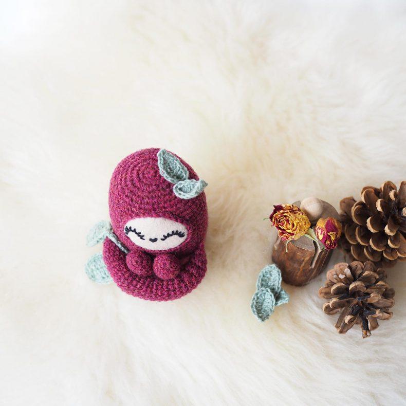 curlie pattern tiny curl holst garn wool créations mignonneries crochet laboutiquedemelimelo