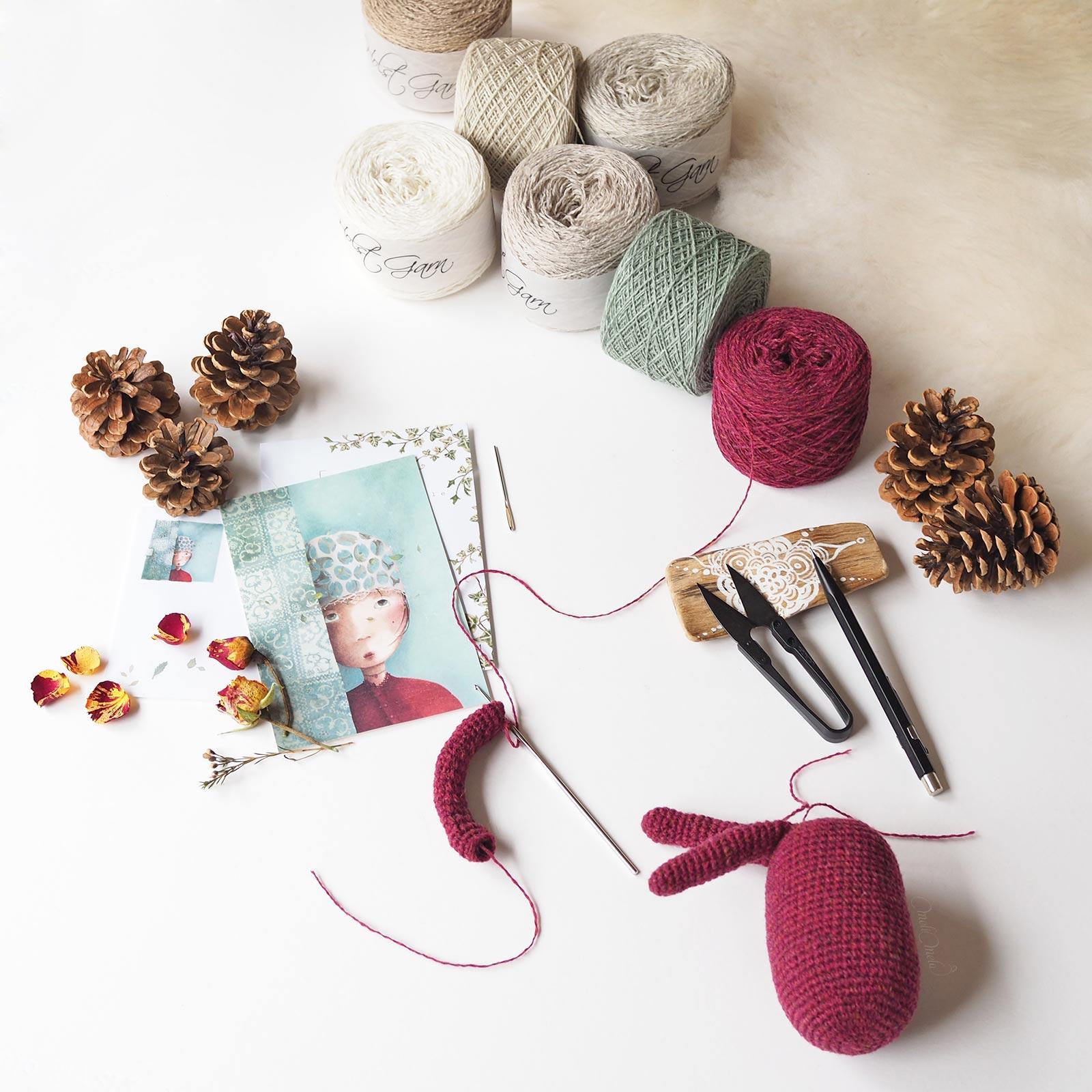 crochet elfe pins encours inspiration poème Cicely Mary Barker créations mignonneries laboutiquedemelimelo