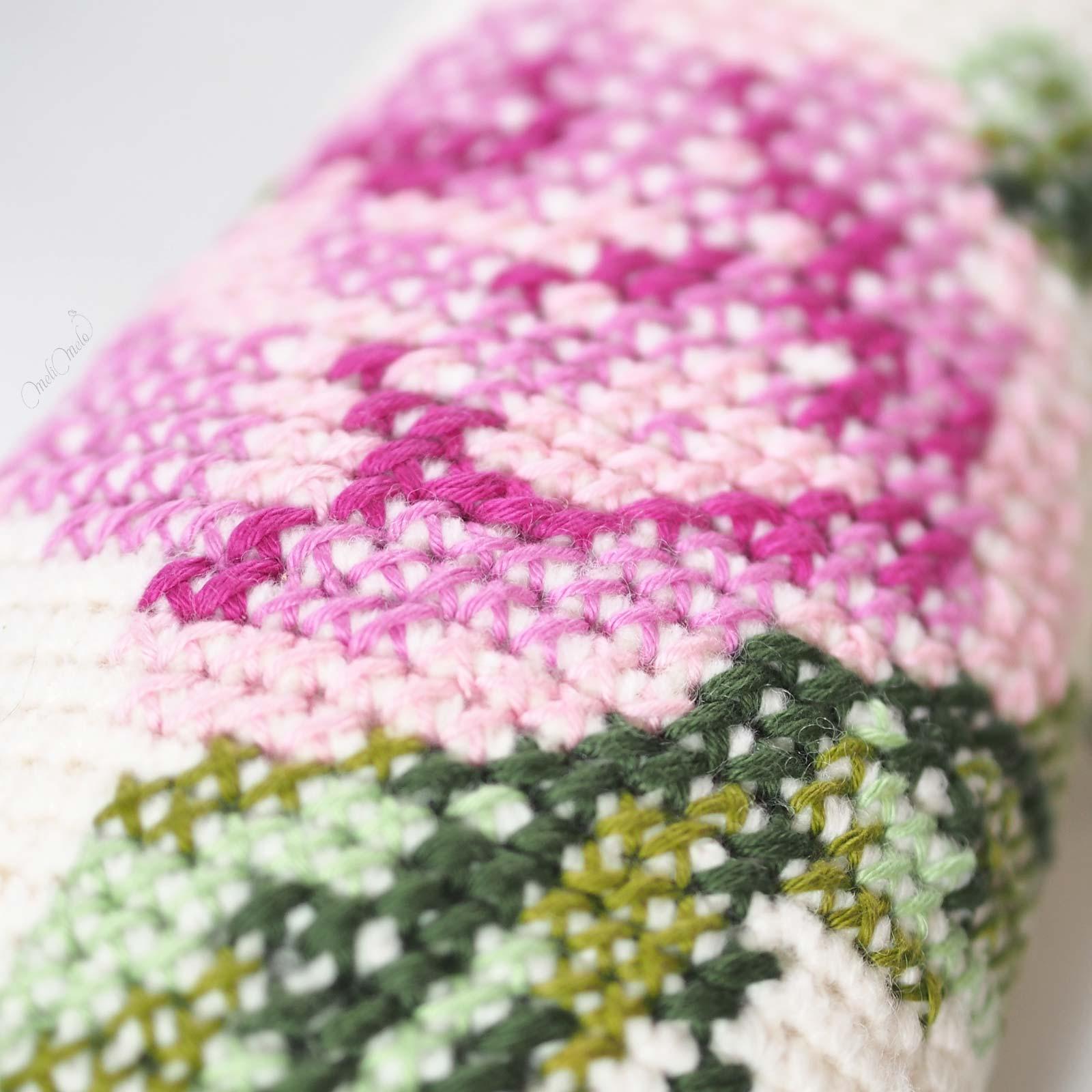 crochet lapin bunny rita Lalylala détail rose brodée laine alpaca chunky ricodesign laboutiquedemelimelo