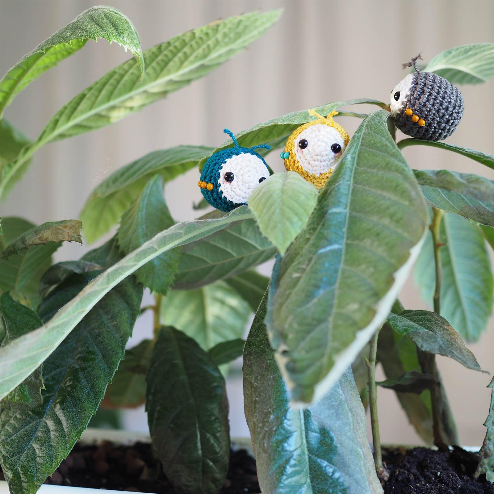crochet insectes aphid aphidoidea Laylala beetles Scheppjes serial crocheteuses more 443 néflier laboutiquedemelimelo