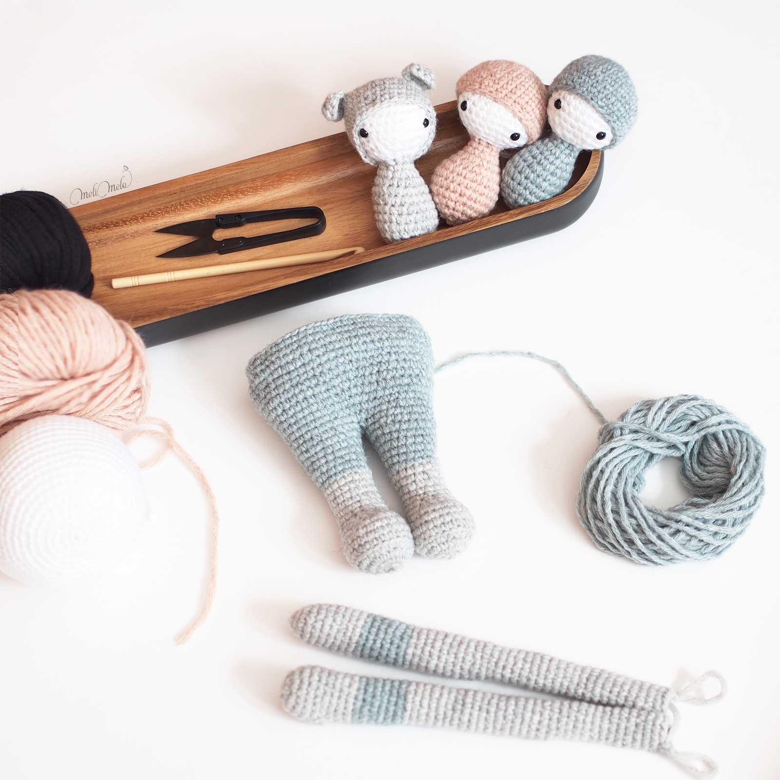 crochet kangourou Kira encours Lalylala alpaca ricodesign laboutiquedemelimelo
