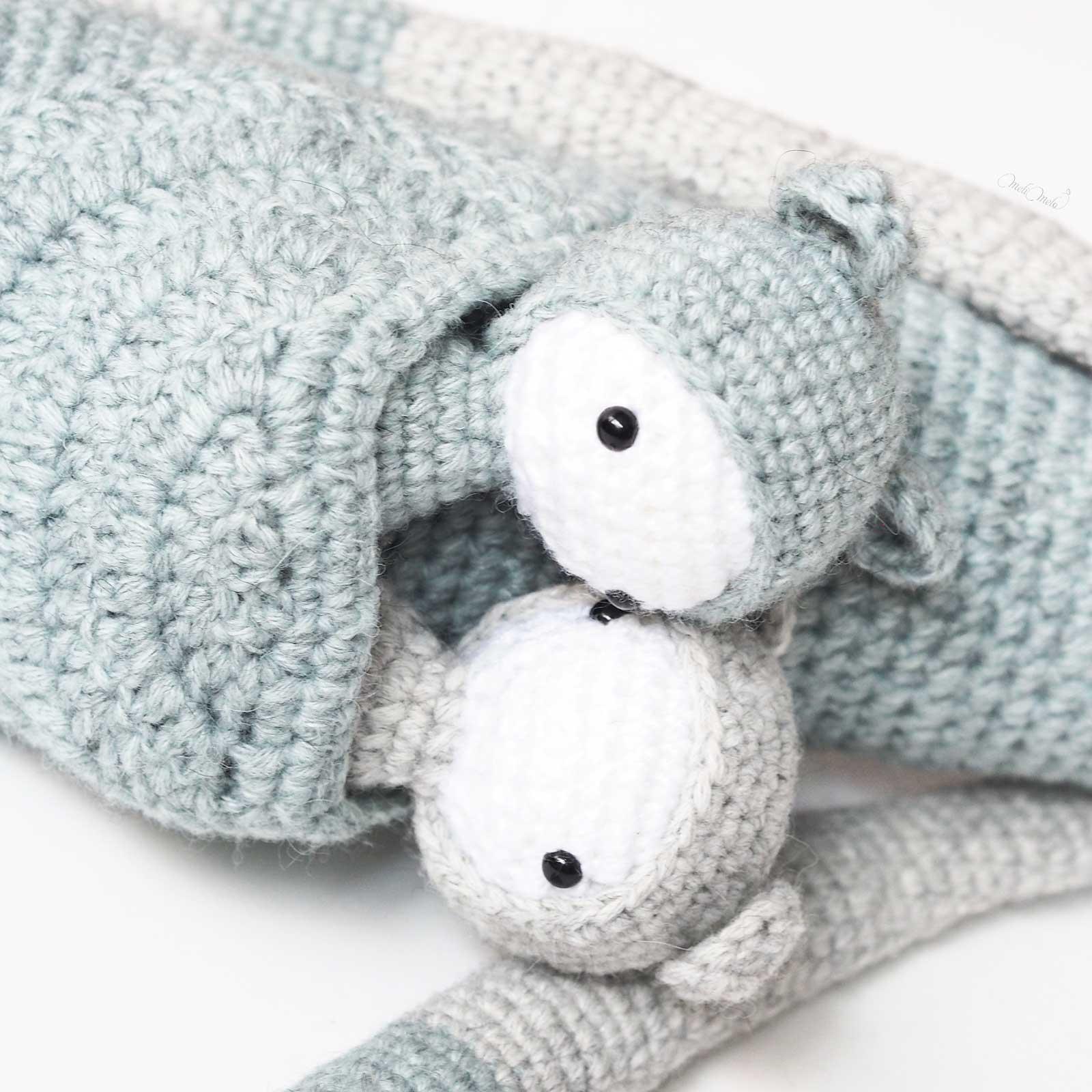 crochet jumeaux kangourous Kira Lalylala alpaca ricodesign laboutiquedemelimelo