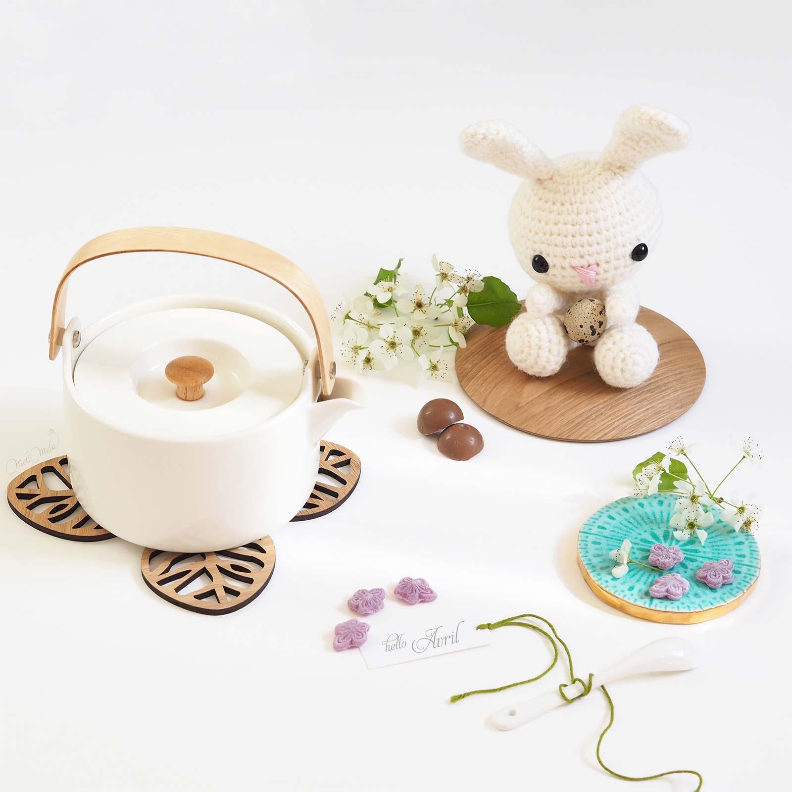 crochet lapin blanc laine alpaca ricodesgn allaboutami pâques laboutiquedemelimelo